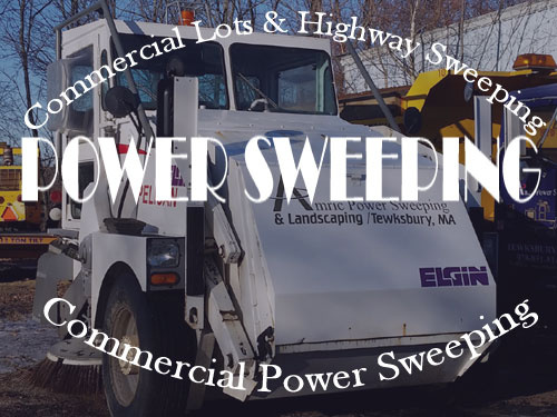Power Sweeping MA | Street and Commercial Lot Sweeping Massachusetts