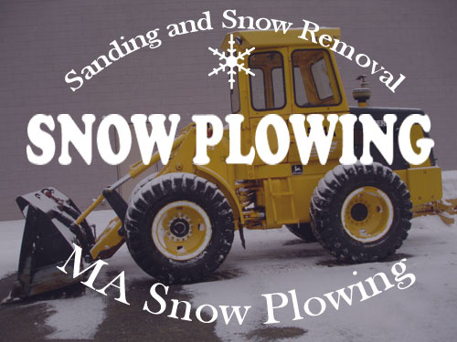 Massachusetts Snow Plowing | MA Sanding | MA Snow Removal